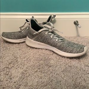 Adidas Grey and White Tennis Shoes